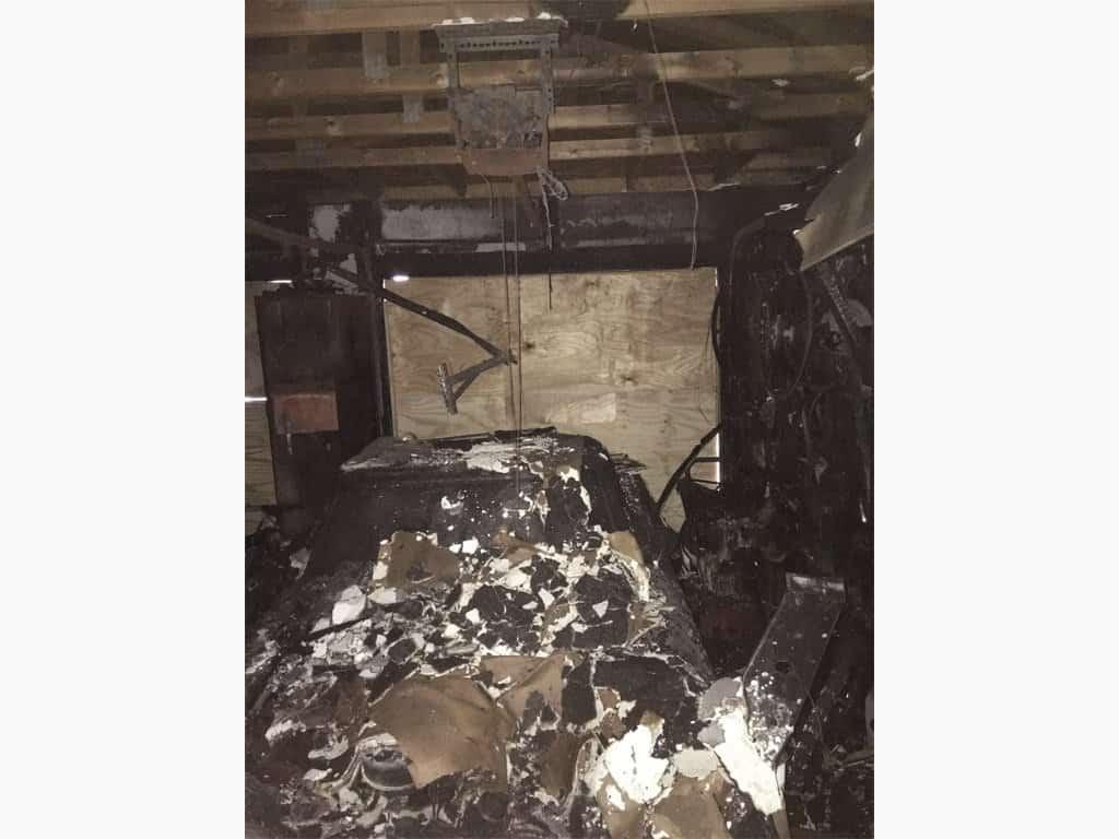 Before-Garage Fire