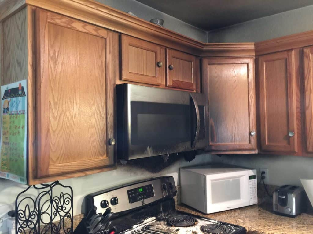 Before-Kitchen Fire