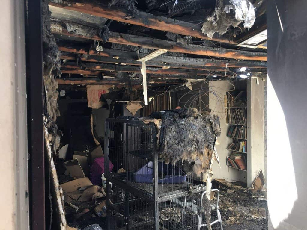 Before-House Fire