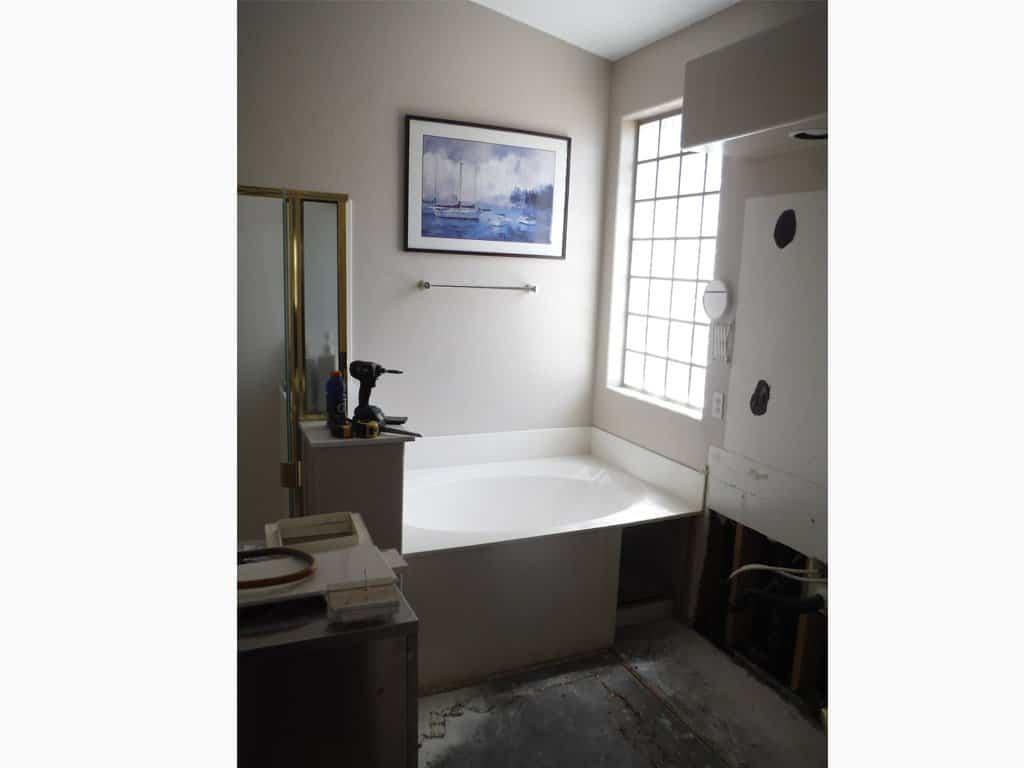 Before-Shower / Bath Conversion